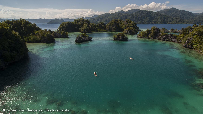 Baie de Matarape, île de Sulawesi, Indonésie
